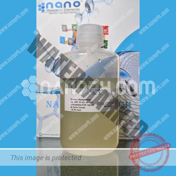 Biosilver Nanoparticles Water Dispersion