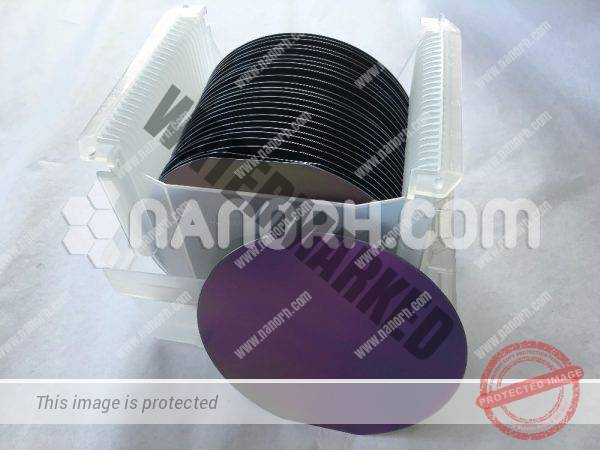 Silicon Wafer Gold Coated