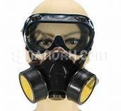 Respiratory Mask Dual Channel / Face Mask Respiratory Protection