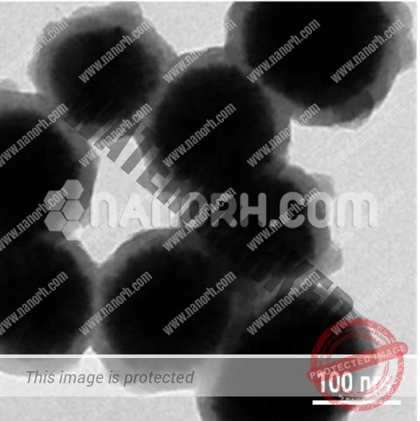 Silicon OxideZinc Silicon Oxide Manganese Core Shell Nanoparticles
