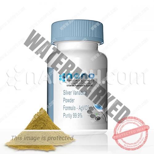 Silver Vanadate Nanoparticles