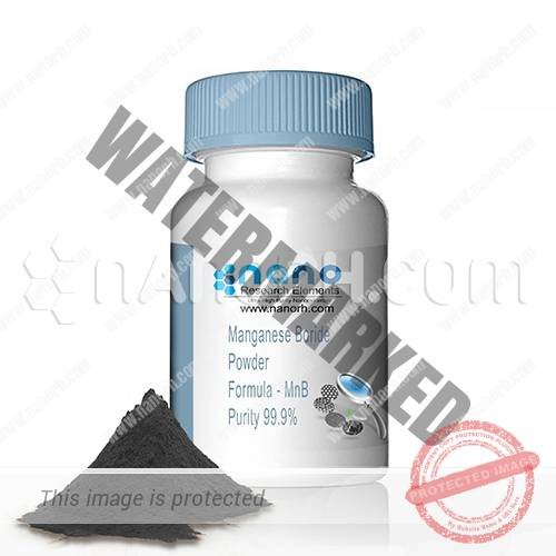 Manganese Boride Nanoparticles