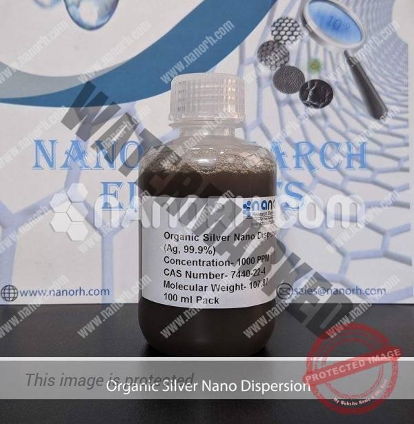Organic Silver Nano Dispersion