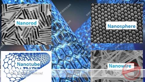 nano structures and nano objects