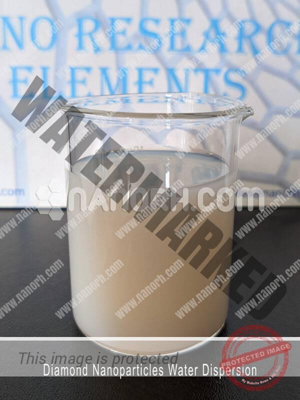 Diamond Nanoparticles Water Dispersion